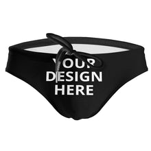 Load image into Gallery viewer, DIY Custom Men's Drawstring Sport Swimsuit