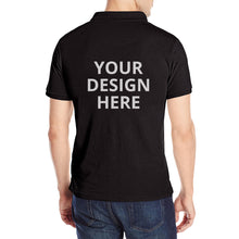 Load image into Gallery viewer, DIY Custom Men's Polo Shirts