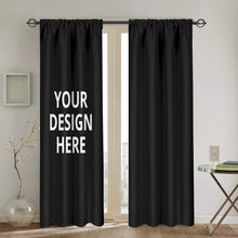 Load image into Gallery viewer, DIY Custom Curtain 2 Panels 52 x 84 in