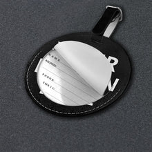 Load image into Gallery viewer, DIY Custom Round Luggage Tag