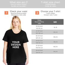Load image into Gallery viewer, DIY Custom Big Size Women's T-Shirt