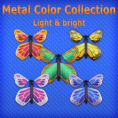 Metallic Color Butterflyers