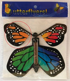 Rainbow wind up flying butterfly