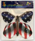 Stars & Strips wind up flying butterfly