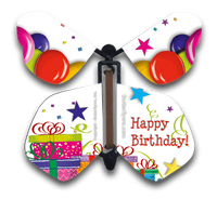 Birthday Gifts Wind Up Flying Butterfly