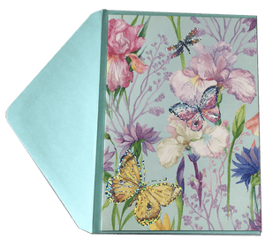 Blank Butterfly Greeting Card