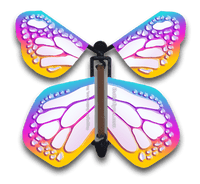 Bismuth wind up flying butterfly from Butterflyers.com