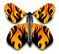 Hot Rod Flames Flying Butterfly