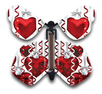 Big Hearts Flying Butterfly