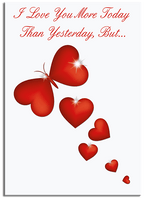 More Today Than Yesterday Greeting Card (Card Only)
