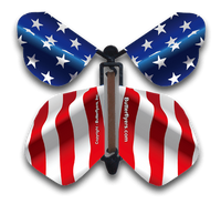 Stars & Stripes Flying Butterfly