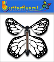 Color Me Monarchy Wind Up Flying Butterfly For Greeting Cards by Butterflyers.com