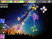 catch the flying butterfly mobile game from butterflyers