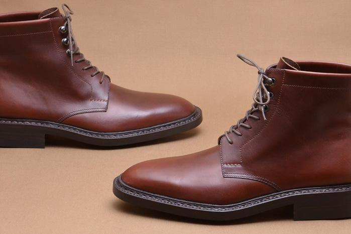 Handmade Brown Leather Lace Up Boot - leathersguru