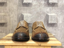 Load image into Gallery viewer, Bespoke Brown Suede Split Toe Lace Up Shoe for Men - leathersguru