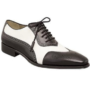Men Spectator Shoes, Black And White Formal Shoes, Men's Shoes