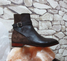 Load image into Gallery viewer, Handmade Men's Brown Jodhpurs Leather Suede Boot - leathersguru