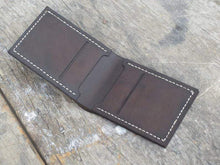 Load image into Gallery viewer, Mens Wallet, Mens leather wallet, Handmade Wallet Leather Wallet thin leather wallet, Men wallets, Traditional Alligator Texture Card holder - leathersguru
