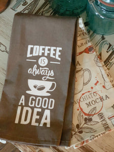 Coffee is Always a Good Idea Decorative Kitchen Towels (2 pack)
