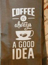 Load image into Gallery viewer, Coffee is Always a Good Idea Decorative Kitchen Towels (2 pack)