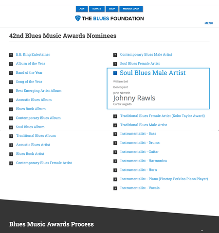 The Blues Foundation | 42nd Blues Music Awards