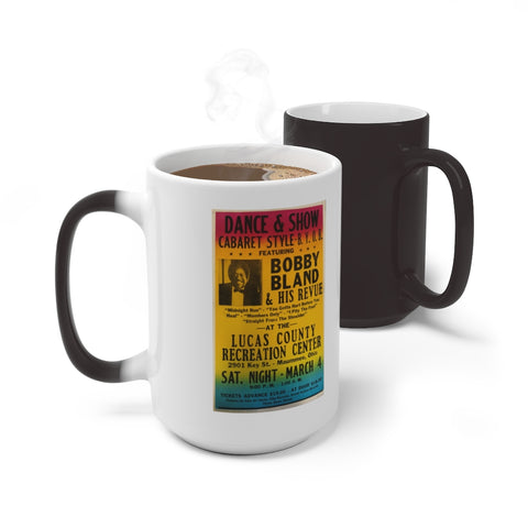 Bobby Bland - Concert Poster | Color Changing Mug
