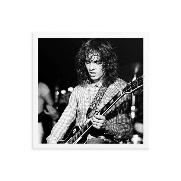 Peter Frampton | Framed photo paper poster V2