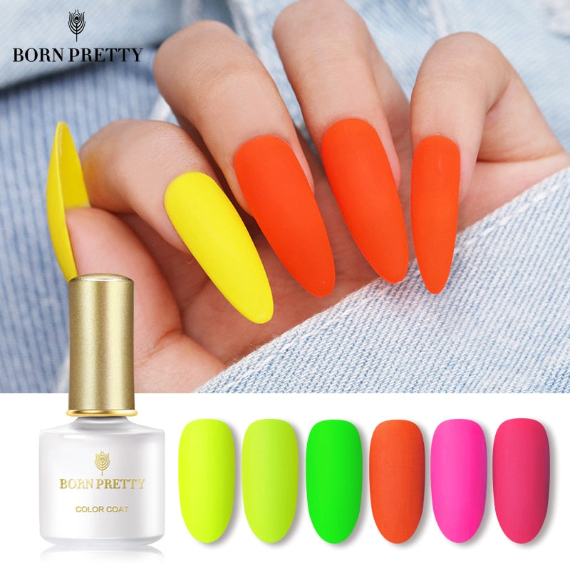 Neon Matte Nail Gel Polish 6ml