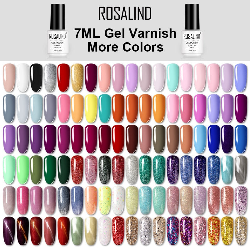 Gel Nail Polish Hybrid Varnishes