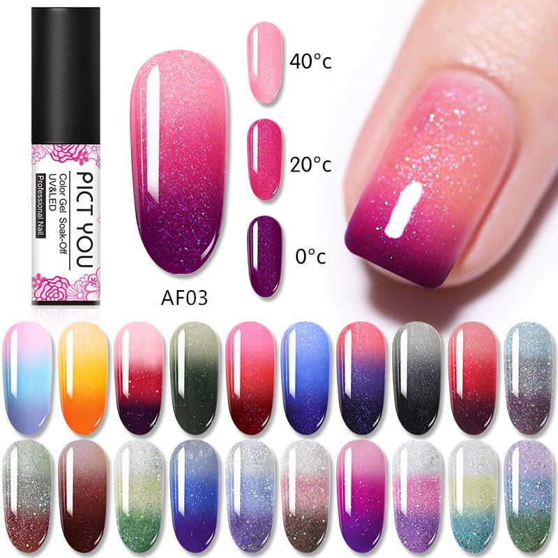 Nail Gel Three Colors