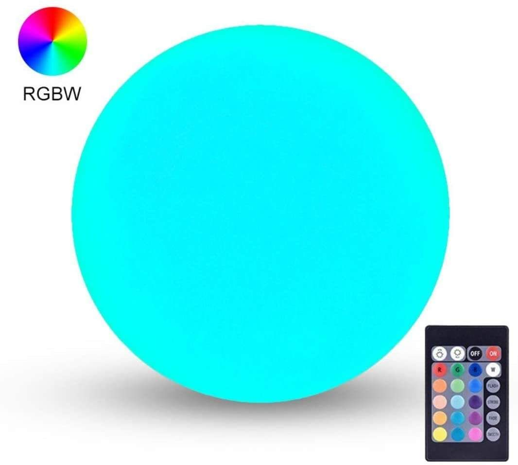 IP65 Waterproof Floating Pool Lights, 16 Colors & 4 Modes, Portable & USB Charging Nebula Light