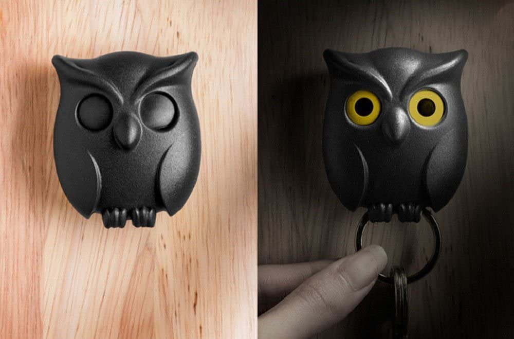 "Owl ""Eyes"" Key Holder Nebula Light"