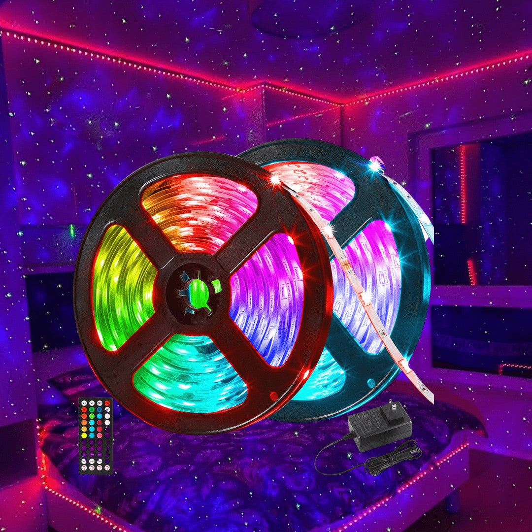 Room Transformer LED Strip Kit - 32Ft Nebula Light
