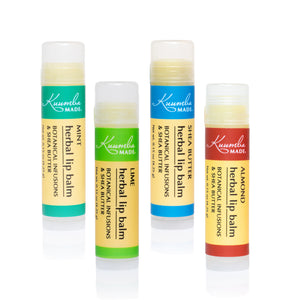 Herbal Lip Balm Set Of 4