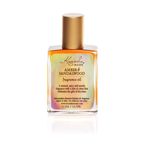 Amber & Sandalwood Fragrance Oil | 0.5oz | 14.7mL