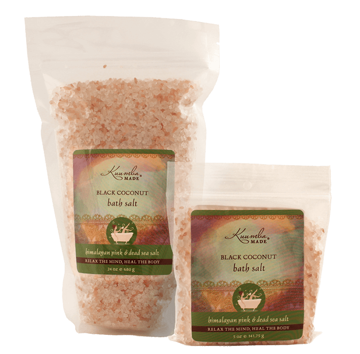 Black Coconut Bath Salt | 24 oz | 5 oz