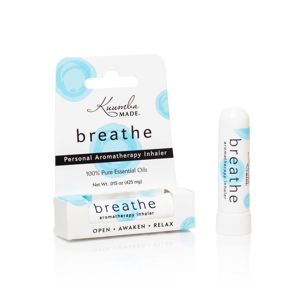 Breathe Personal Aromatherapy Inhaler from Kuumba Made