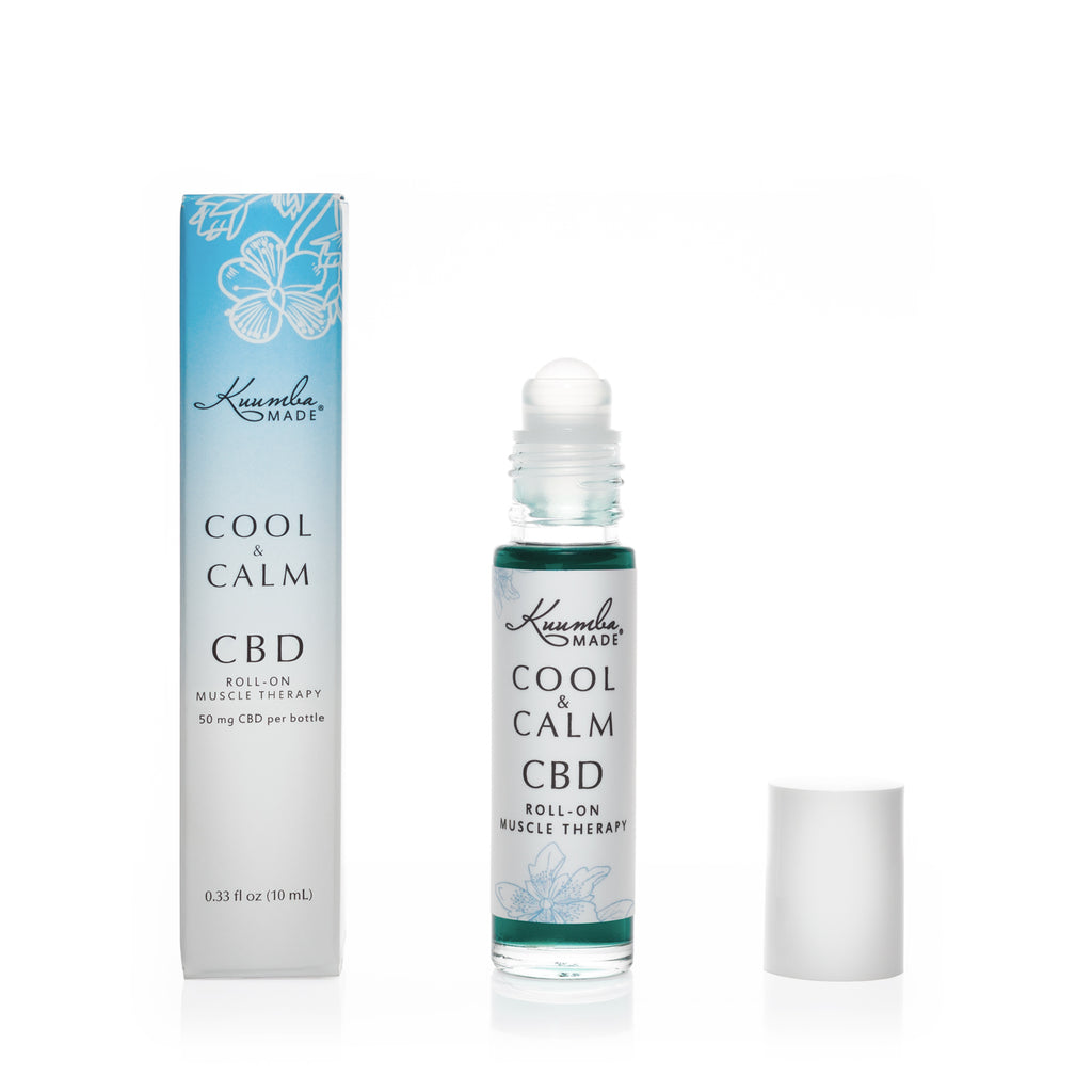 COOL & CALM- Natural CBD 10ml Roll-On from Kuumba Made
