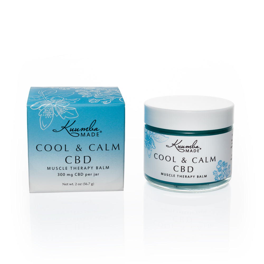COOL & CALM- Natural CBD Balm muscle therapy 2oz from Kuumba Made