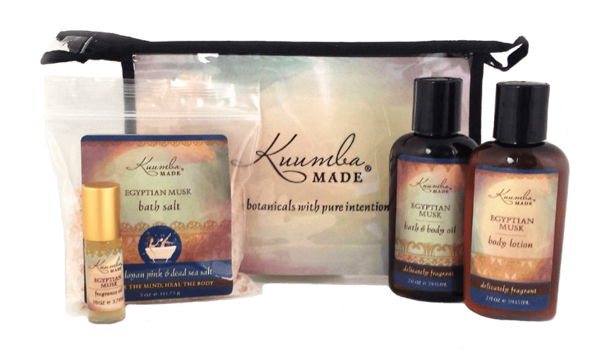 Egyptian Musk Four Treasures Collection Bath and Body from Kuumba Made