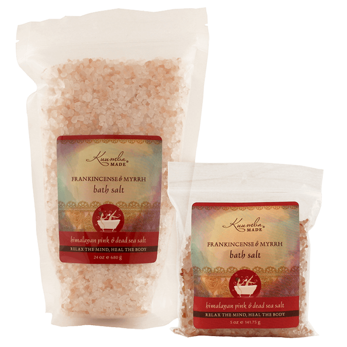 Frankincense & Myrrh Bath Salt | 24 oz | 5 oz