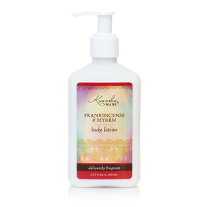 Frankincense & Myrrh Body Lotion