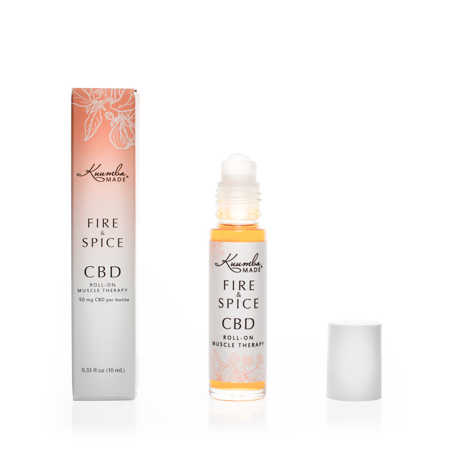 Fire And Spice Natural CBD 10ml Roll-On from Kuumba Made