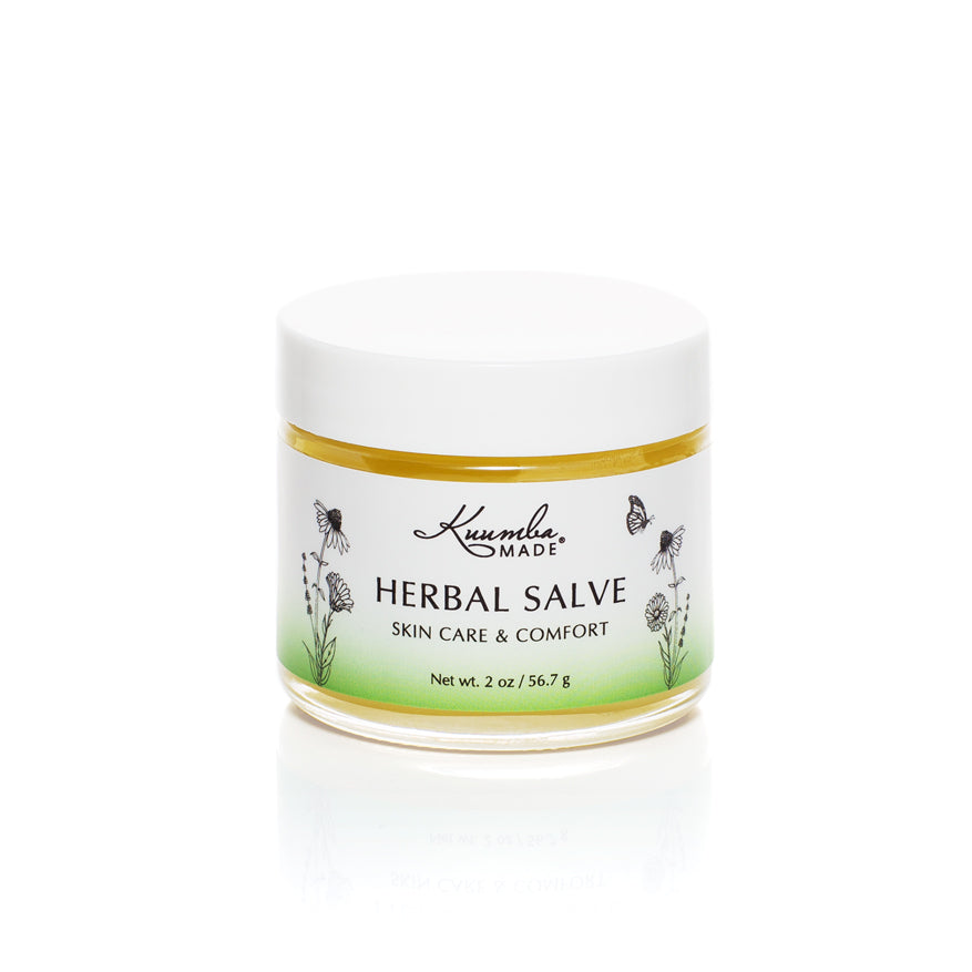 Herbal Salve Botanical Skin Care 2oz jar from Kuumba Made
