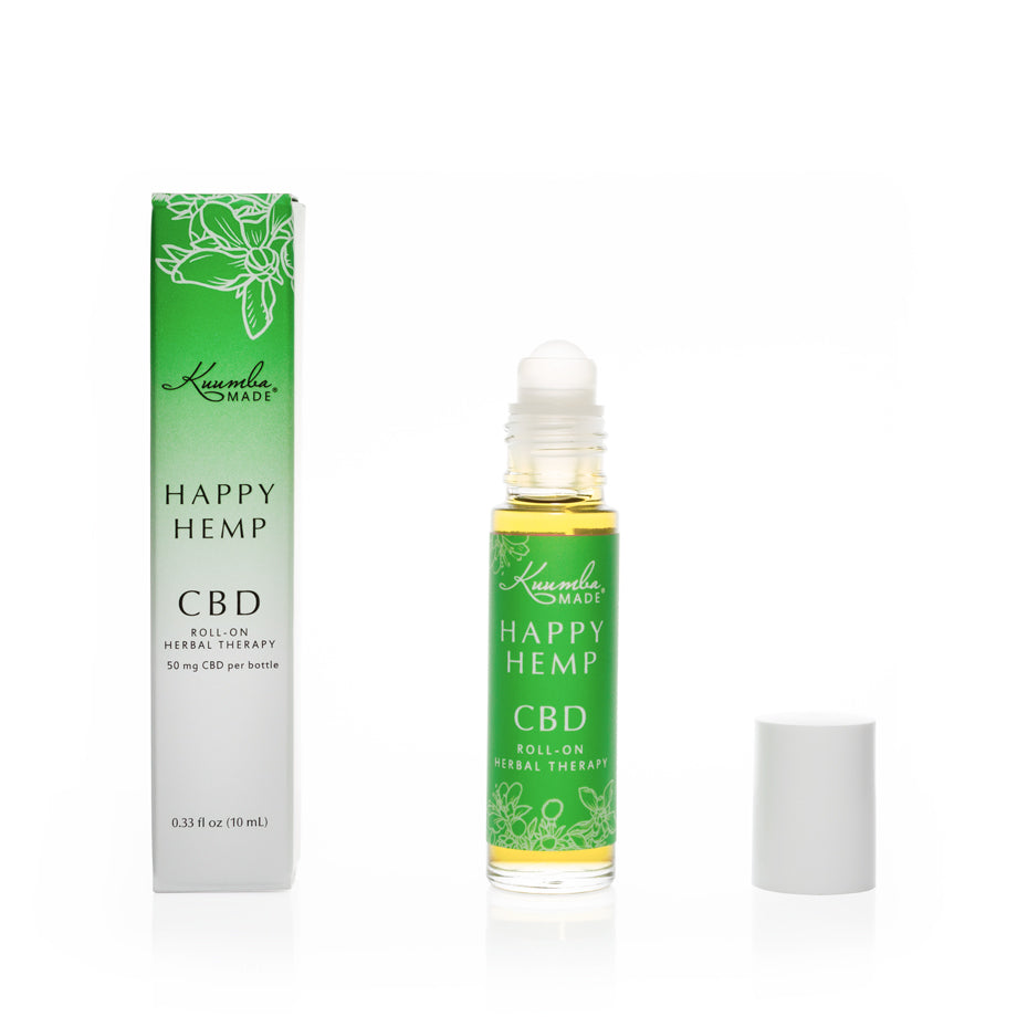 Happy Hemp Natural CBD 10ml Roll-On from Kuumba Made