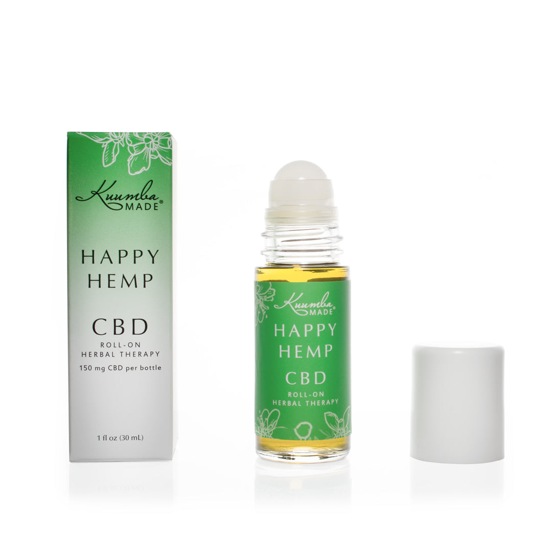 Happy Hemp Natural CBD 30ml Roll-On from Kuumba Made