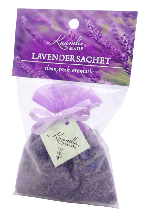 Lavender sachet in package.
