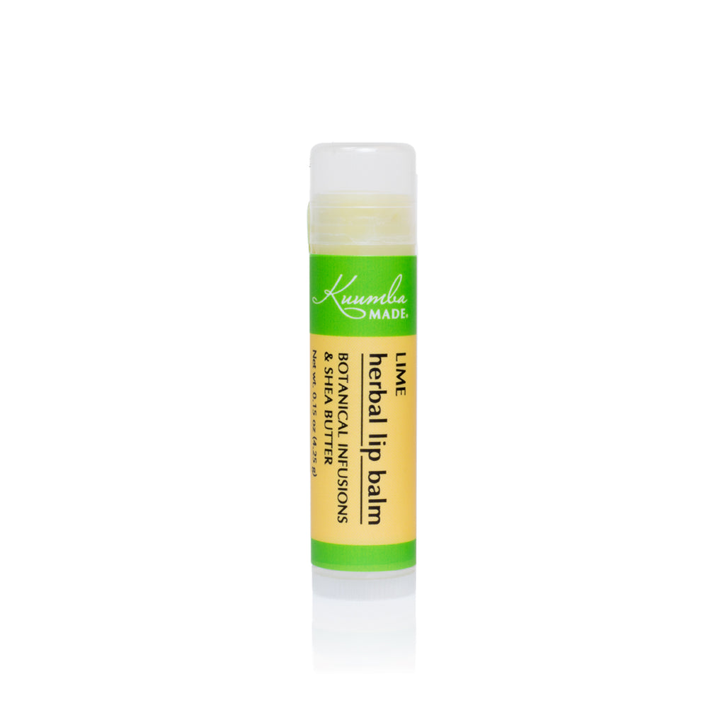 Lime Herbal Lip Balm