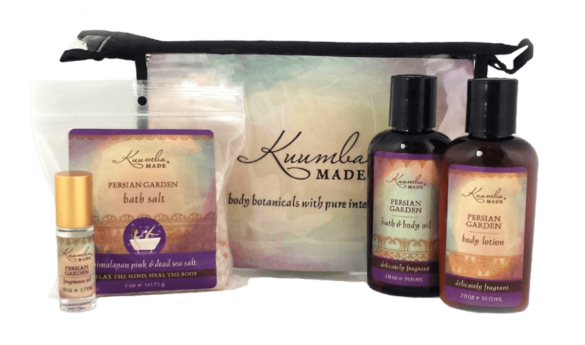 Persian Garden Four Treasures Collection Bath and Body from Kuumba Made