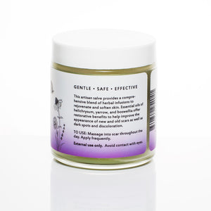 Scar Care Herbal Salve  description from Kuumba Made